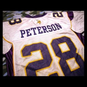Adrian Peterson Vikings Jersey! #28! Classic! Sz.S